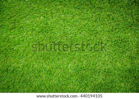 Green artificial grass - Shutterstock ID 440194105