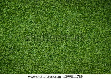 Green artificial grass natural background #1399811789