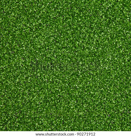 Green artificial turf pattern