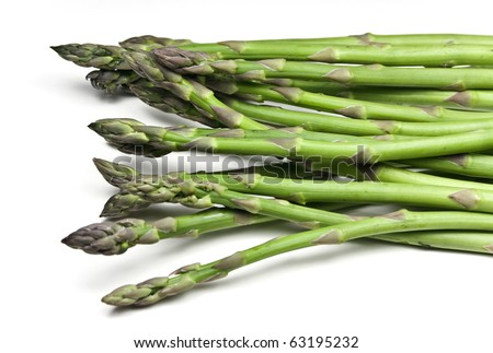 Green Asparagus - stock photo