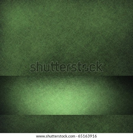 green background design with highlighted graphic art design for adding your own text or title for Christmas, St. Patrick's day, or other events