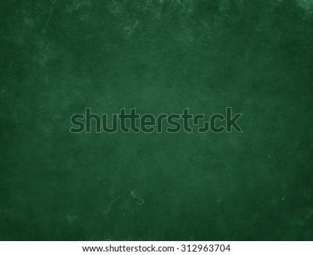 Green background. Green board. Chalkboard #312963704