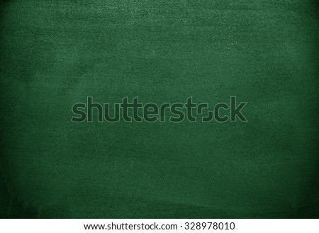 Green background. Green chalkboard