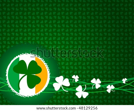 Irish Flag Tattoos. IRISH FLAG SHAMROCK TATTOOS