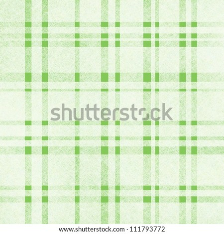 Plaid Background Green Green Background With White