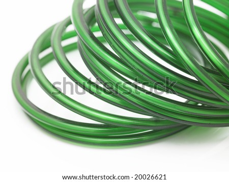 stock photo green bangles in white background 20026621 - lifestyle and fashion competition august 2011