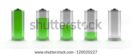 Green battery status