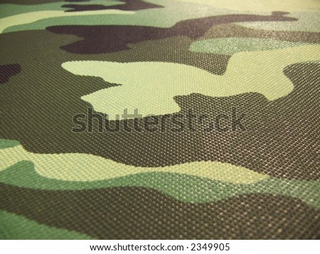green, black, grey, brown, yellow camouflage pattern