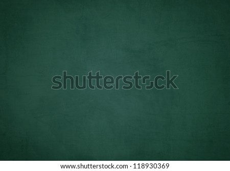 Green blank chalkboard for background - stock photo