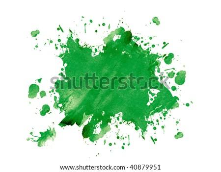 Green blot