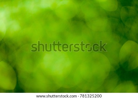 Green bokeh soft background #781325200