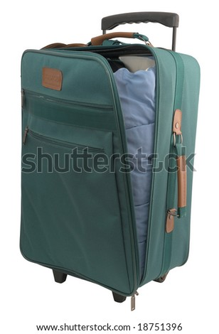 Green Carry-on Case