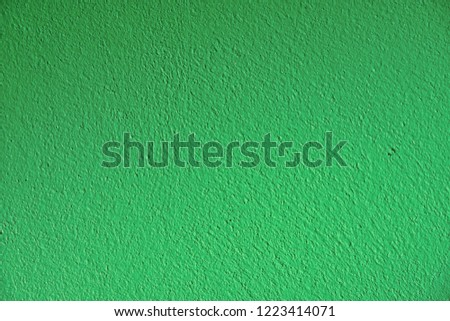 green cement texture and background