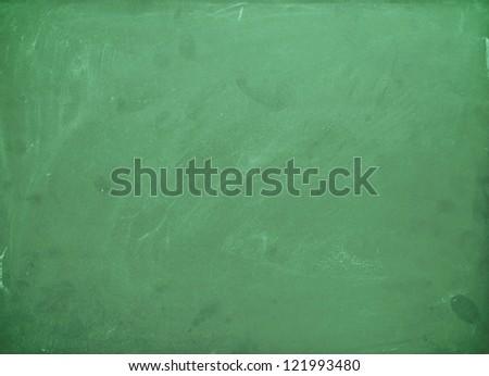 Green chalk board background