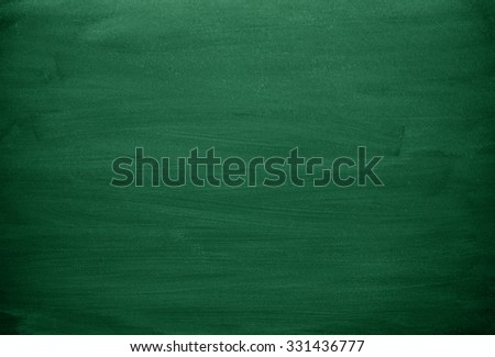 Green chalkboard texture. Green background