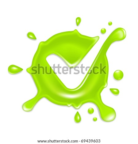 Green check mark, Bitmap copy
