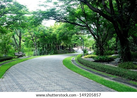 Green city park  - Shutterstock ID 149205857