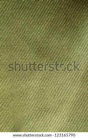 Green cloth texture.