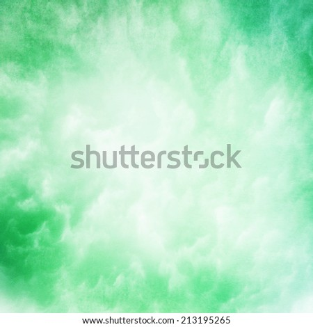 green cloud texture background