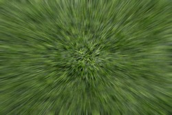 Green color background, zoom effect of plastic artificial grass on the schoolyard