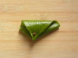 Green color Betel quid or Beeda Paan