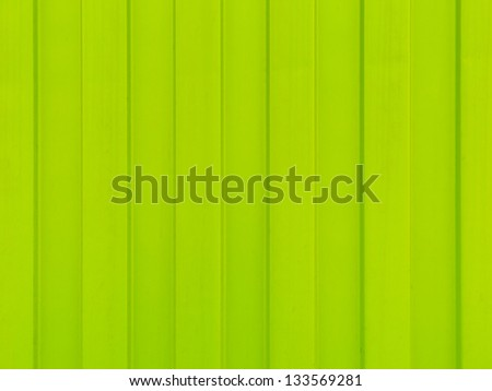 Green color metal sheet for background - stock photo