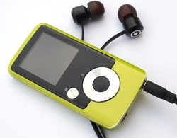 green color mp3 digital music player