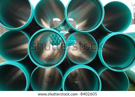 Green Construction Pipes