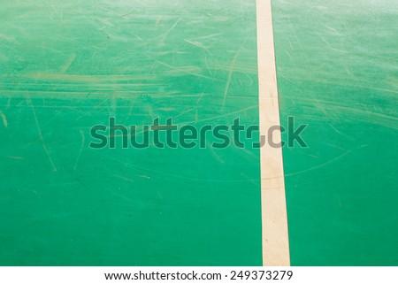 Green Court indoor stadium texture