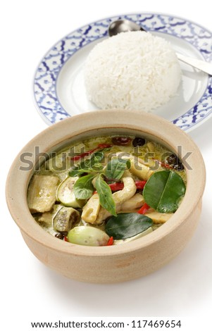 green curry, thai cuisine