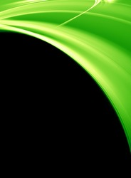 Green 3d background