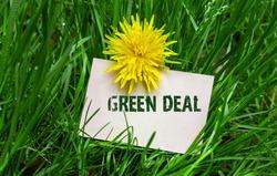 Green Deal business card text