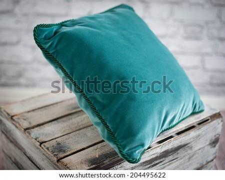 Green Decor-Pillow