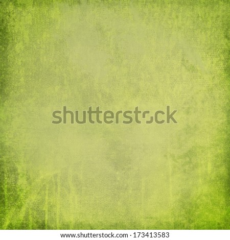 Green Distressed Textured Background