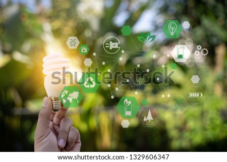 green energy concept energy sources sustainable Ecology Elements #1329606347