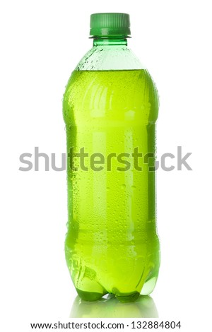 Green Energy Drink Soda against a background