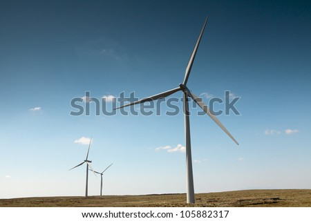 Green energy source.