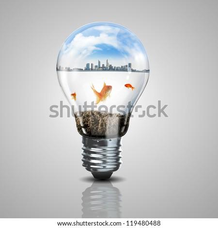 green energy symbols  ecology...