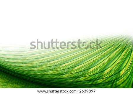Green Energy Waves.