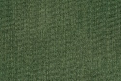 Green fabric texture, background