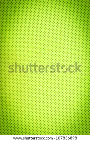 Green fabric texture background.