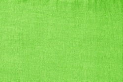 Green Fabric Texture Or Background.
