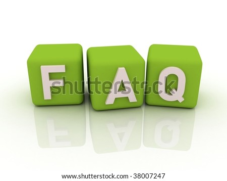 green faq boxes