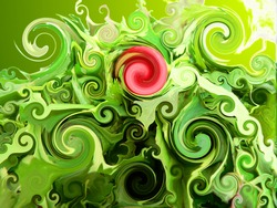 Green Fractal Style