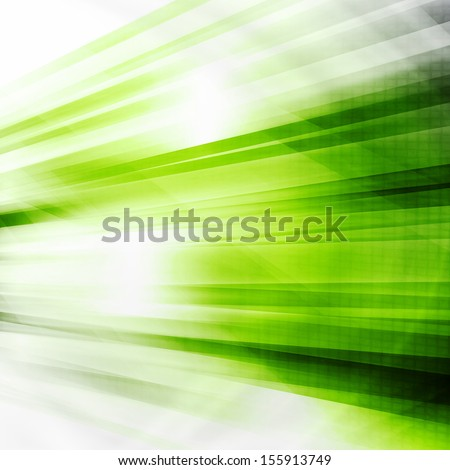 Green Futuristic Abstract Background