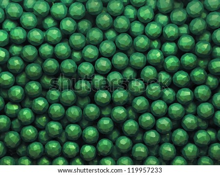 green gems background texture
