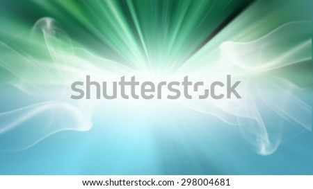 Green gradient zoom abstract texture design background or wallpaper.