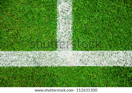Green grass background (Soccer/Football field set)