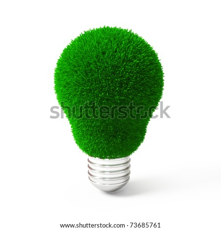 Green Grass Over Lamp