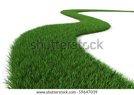 Green Grass path
